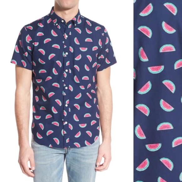 2dc6e208d86 Bonobos Other - Bonobos Watermelons slim fit short sleeve shirt